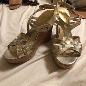 Mixed Metal Platform Wedge 8.5M